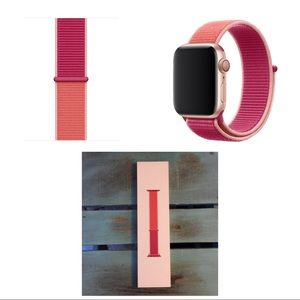 Apple Watch 44mm Pomegranate Sport Loop Band